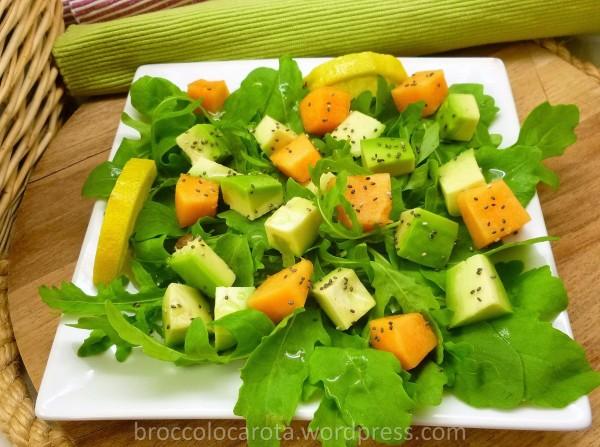 rucola melone avocado chia6